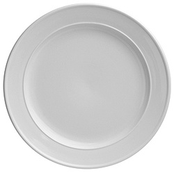 Duraceram White Round main Plate, 280mm
