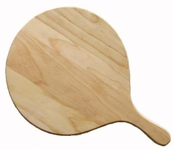 Wood pizza board with handle, 340mm