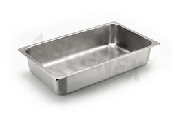 Sunnex Gastronorm food pan solid, 1/1 size, 102mm deep
