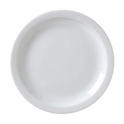 Catalina round thin rimmed plate, 27cm, CAT-16