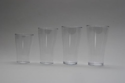 Polycarbonate Conical Beer Tumbler 425ml.
