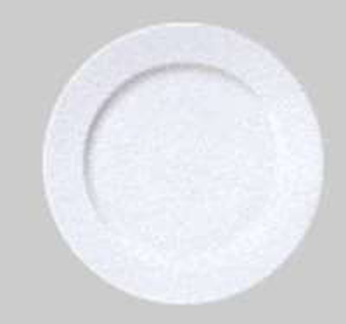 Patra White Round Rimmed Entree Plate, 20cm, 9010020