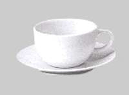 Patra white rounded cappuccino cup 220ml, 902-2190