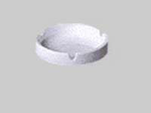 Patra White Ashtray with 3 notches, 901-1611
