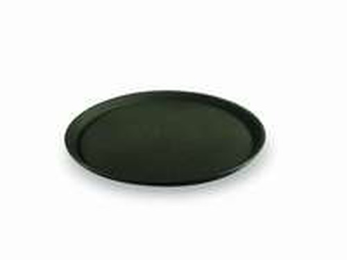Non-Slip Round Bar Tray, 35cm, black