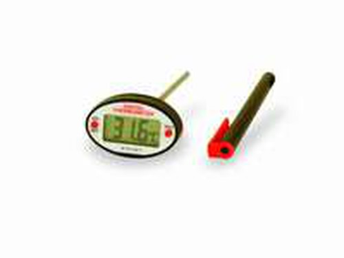 Thermometer Lcd Oval