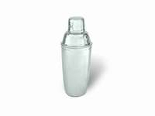Cocktail Shaker, 3pc, 500ml
