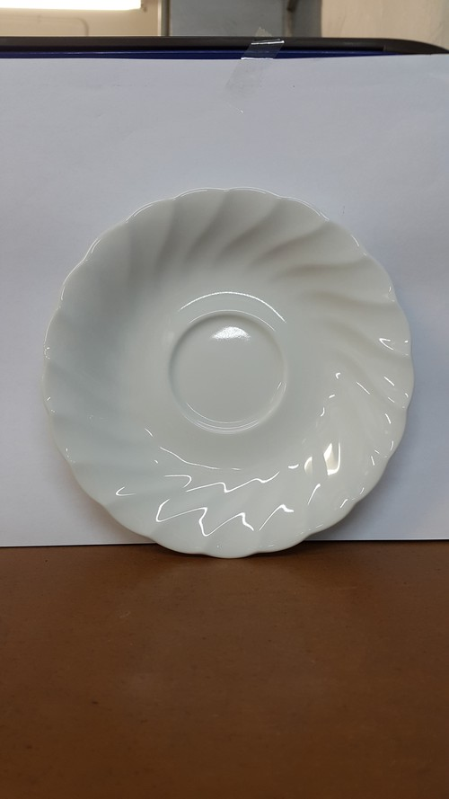 Patra Coupe Wave pattern Saucer, 909-2001