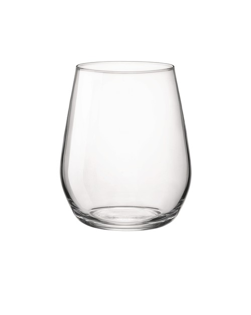 Bormioli Rocco Electra 380ml O/F  tumbler, or stemless wine glass.