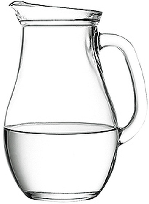 Pasabahce Bistro 1.0L jug with pour lip