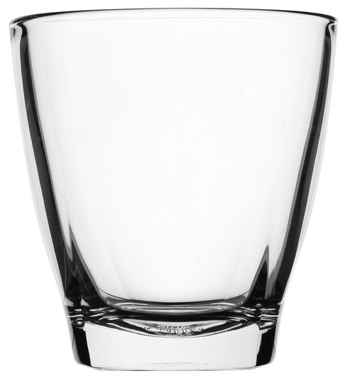 Caffe Moderno clear glass latte mug without handle, 280ml, 5918