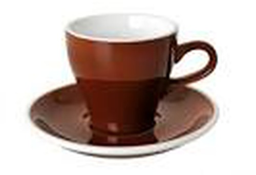 Acme Tulip coffee brown coloured cup 170ml, ACB-080