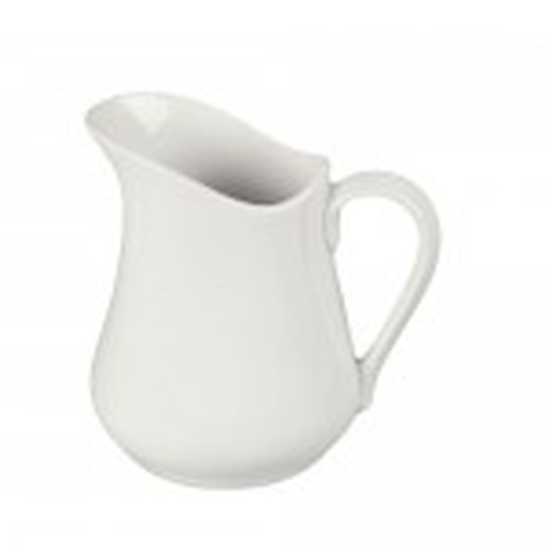 BIA White Porcelain Jug of  0.125L capacity.
