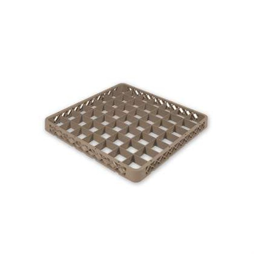 Cater-rax Glass wash rack extender, 49 compartment 500x500mm