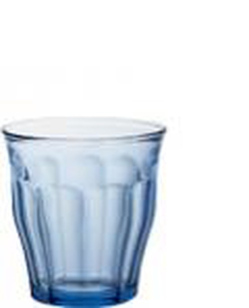 Duralex Picardie Light Blue tint Tumbler, 250ml.