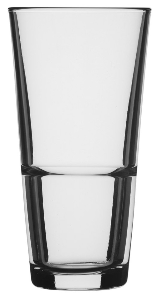Pasabahce Grande H/ball stackable toughened tumblers, 372ml, 0116