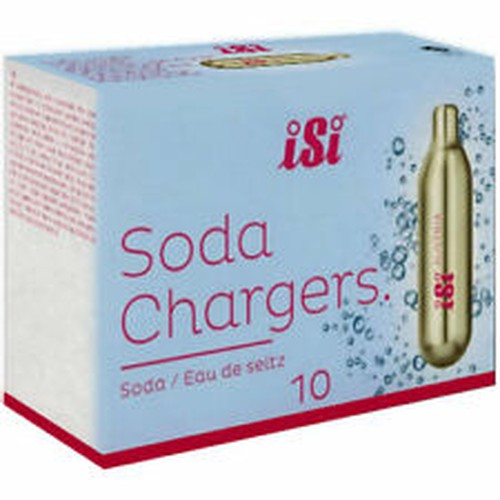 Isi Soda Charges, 10 bulbs to Packet, 24050