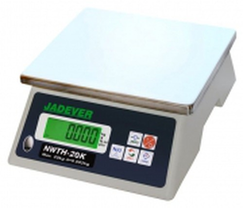 JADEVER Kitchen bench electronic scale, 20kg x 1gm, NWTH-20
