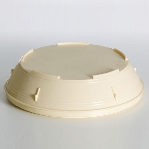 Insulated Food Service Plate Cover, 23cm, Beige, 98000