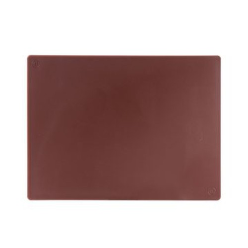 Cutting Board Polyethylene, 610x457x12mm, Brown, 35620