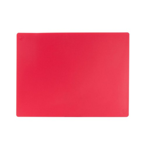 Cutting Board Polyethylene, 610x457x12mm, Red, 35616