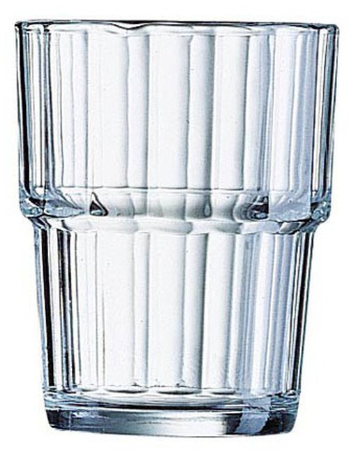 Arc Norvege stacking high ball tempered tumbler, 160ml