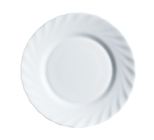 Arc Trianon white round rim plate, 245mm
