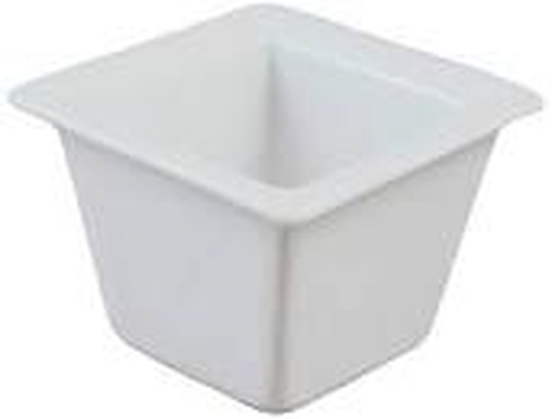 Vertex Mini Pot, with Rim, 63x63mm.