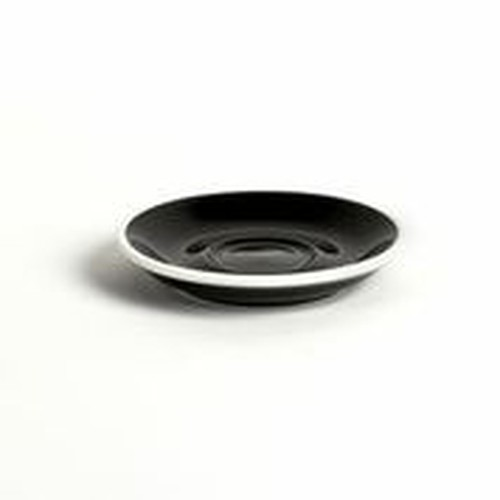 ACME Black coloured Demitasse Saucer, 115mm, ACA-087
