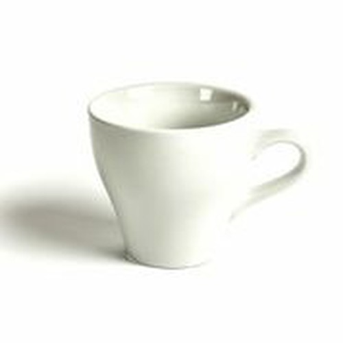 Acme Tulip coffee white coloured cup 170ml, ACW-080