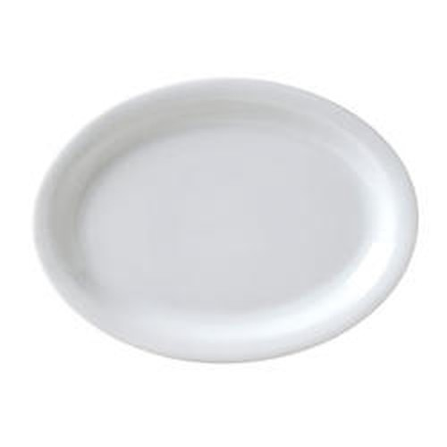 Vertex Catalina Oval thin rimmed plate, 25cm, CAT-12
