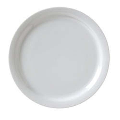 Catalina round thin rimmed plate, 17cm, CAT-6