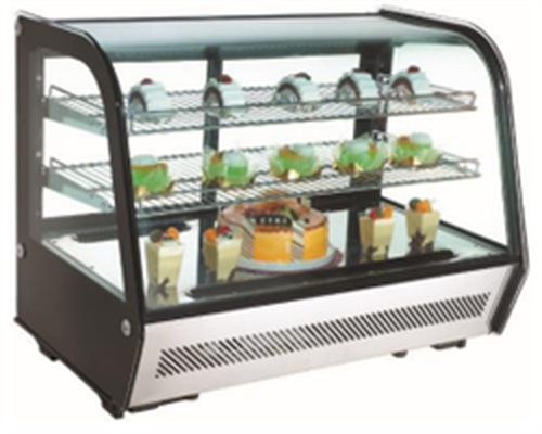 Rotor Refrigerated Counter Top Display, 682mm Wide