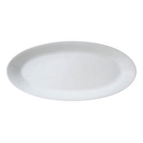 Vertex Oval Fish Platter with rim, length 585mm