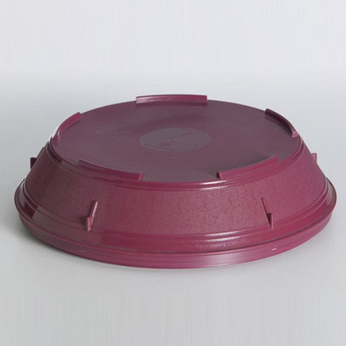 Insulated Food Service Plate Cover, 23cm, Burgandy,98002
