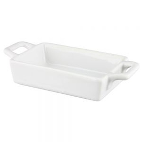 Vertex mini rectangle baker / bowl, 76x75mm.