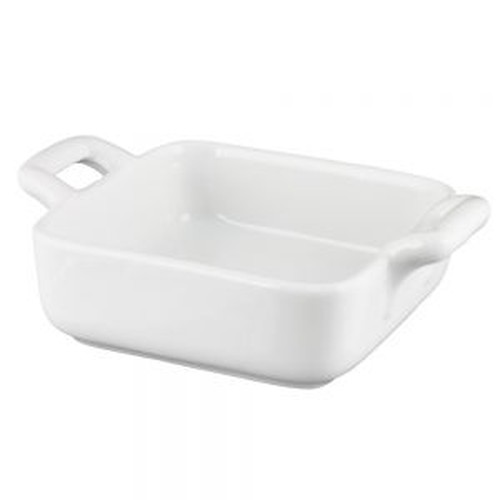 Vertex mini square baker / bowl, 70x70mm.