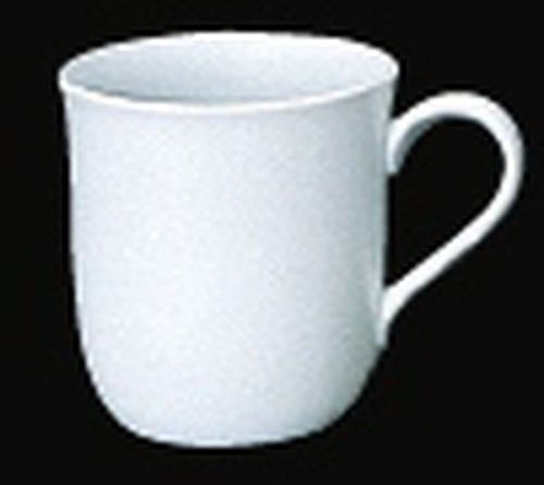 Patra White Coffee Mug with rounded base, 280ml, 980-2405