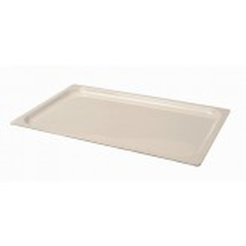Melamine full size Gastronorm Tray, 20mm deep, White.