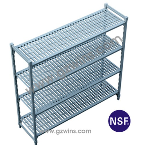 Plast-lok 4 shelf module, 1800x455x1220mm,PL6C124