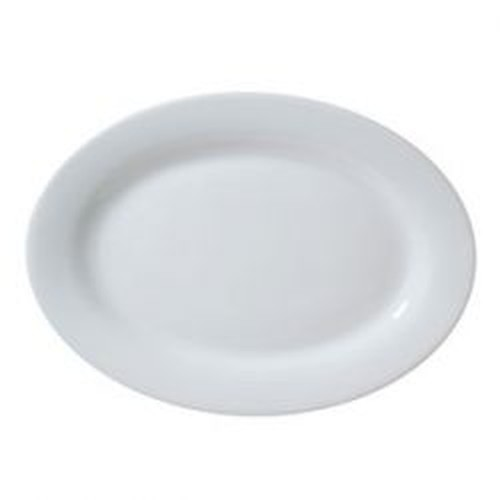 Vertex Oval platter with rim, length 510mm