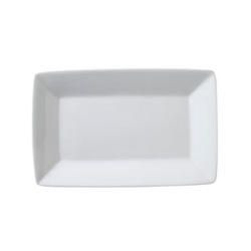 Vertex Rectangle Plate with rim 368x183mm, PVARG-R28P