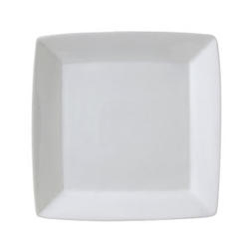 Vertex Square Plate with rim, 150mm