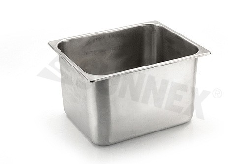 Sunnex Gastronorm food pan solid, 1/2 size, 200mm deep