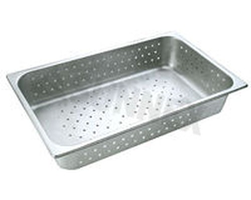 Sunnex Gastronorm food pan perforated, 1/1 size, 100mm deep
