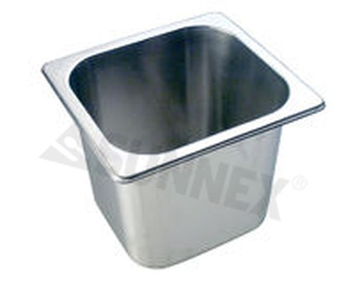 Sunnex Gastronorm food pan solid, 1/6 size, 150mm deep