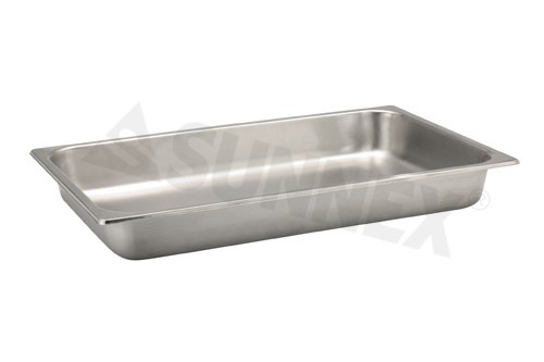 Sunnex Gastronorm food pan solid, 1/1 size, 65mm deep