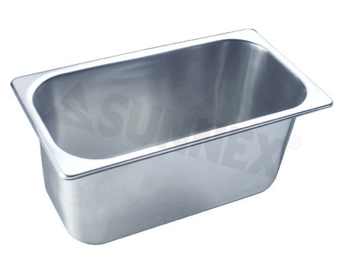 Sunnex Gastronorm food pan solid, 1/3 size, 150mm deep
