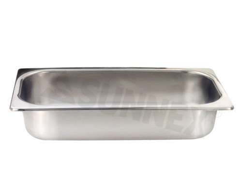 Sunnex Gastronorm food pan solid, 1/3 size, 65mm deep
