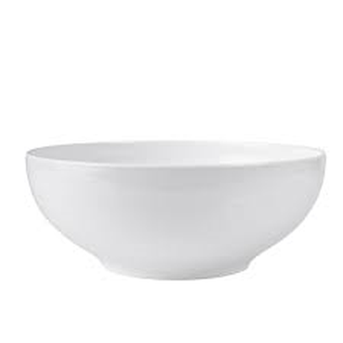 Melamine Display Bowl, 360mm diameter, White